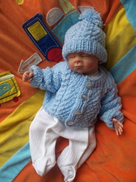 Knitted Sets For Babies