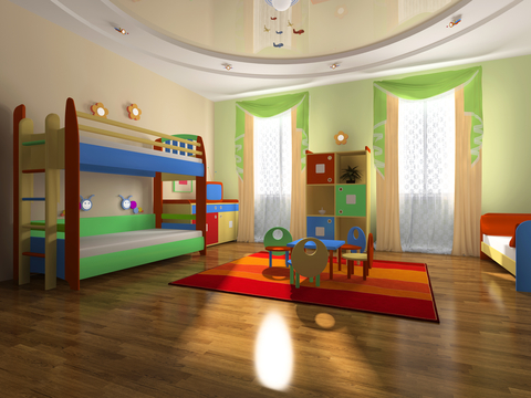 Decorating a toddler bedroom play room made easy pregnancy birth premature baby babies 0 5y for Baby and toddler sharing bedroom ideas
